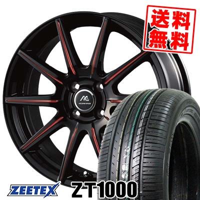 165/50R15 73V ZEETEX ジーテックス ZT1000 ZT1000 MILANO SPEED X10 ミラノスピード X10 サマータイヤホイール4本セット