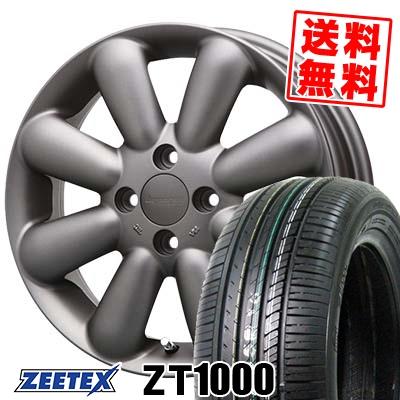 165/55R15 75V ZEETEX ジーテックス ZT1000 ZT1000 HYPERION PINO+(Plus) ハイペリオン ピノ+(プラス) サマータイヤホイール4本セット