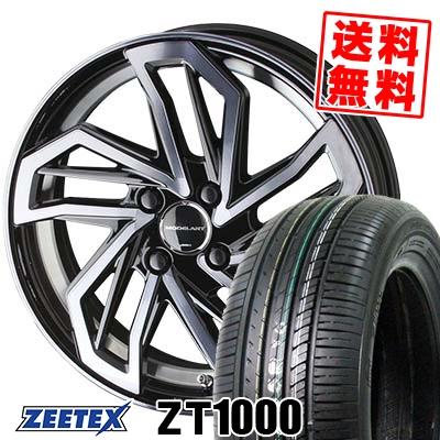 165/50R16 75V ZEETEX ジーテックス ZT1000 ZT1000 AME MODELART REVIVER-monoblock AME モデラート リヴァイバー モノブロック サマータイヤホイール4本セット