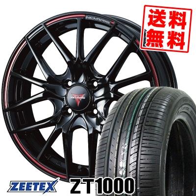 165/55R15 75V ZEETEX ジーテックス ZT1000 ZT1000 WEDS NOVARIS ROHGUE SH ウェッズ ノヴァリス ローグ SH サマータイヤホイール4本セット
