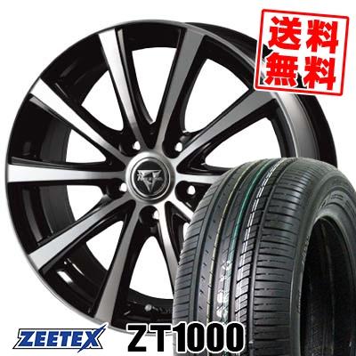 215/65R15 100V XL ZEETEX ジーテックス ZT1000 ZT1000 Razee XV レイジー XV サマータイヤホイール4本セット