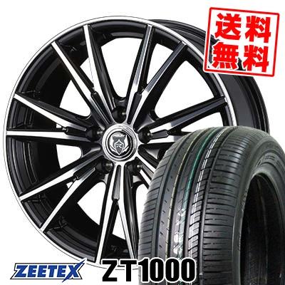 205/65R16 95V ZEETEX ジーテックス ZT1000 ZT1000 WEDS RIZLEY DK ウェッズ ライツレーDK サマータイヤホイール4本セット【取付対象】