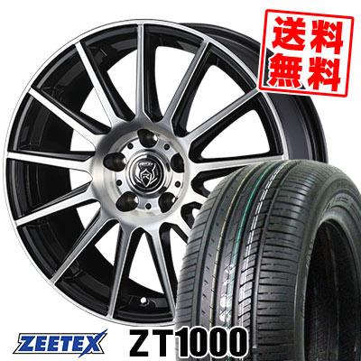 205/65R15 94H ZEETEX ジーテックス ZT1000 ZT1000 WEDS RIZLEY KG ウェッズ ライツレーKG サマータイヤホイール4本セット