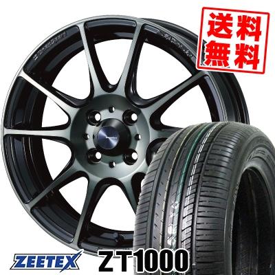 195/45R16 84V XL ZEETEX ジーテックス ZT1000 ZT1000 WedsSport SA-25R ウェッズスポーツ SA-25R サマータイヤホイール4本セット