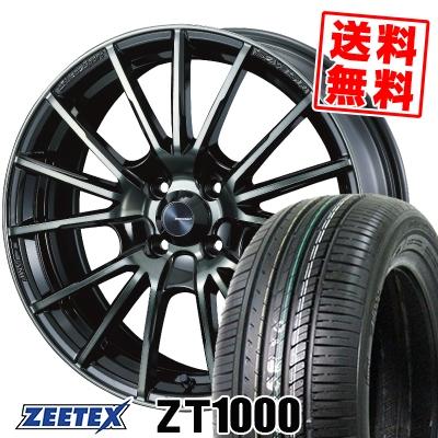 165/50R15 73V ZEETEX ジーテックス ZT1000 ZT1000 WedsSport SA-35R ウェッズスポーツ SA-35R サマータイヤホイール4本セット