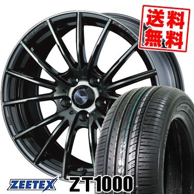 215/60R16 95V ZEETEX ジーテックス ZT1000 ZT1000 WedsSport SA-35R ウェッズスポーツ SA-35R サマータイヤホイール4本セット