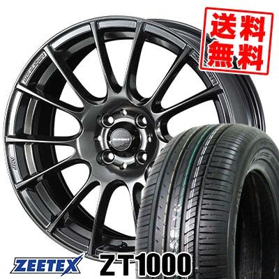 165/40R16 73V XL ZEETEX ジーテックス ZT1000 ZT1000 WedsSport SA-72R ウェッズスポーツ SA-72R サマータイヤホイール4本セット