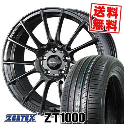 215/65R16 98V ZEETEX ジーテックス ZT1000 ZT1000 WedsSport SA-72R ウェッズスポーツ SA-72R サマータイヤホイール4本セット