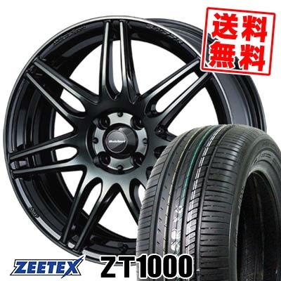 195/45R16 84V XL ZEETEX ジーテックス ZT1000 ZT1000 wedsSport SA-77R ウェッズスポーツ SA-77R サマータイヤホイール4本セット