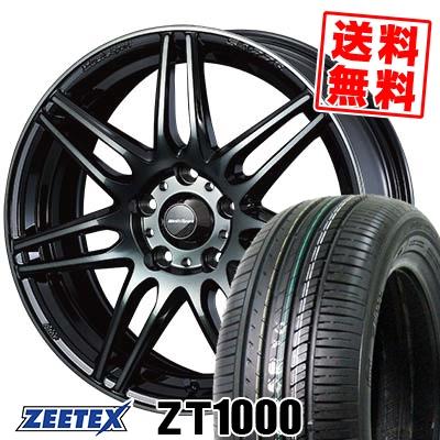 215/65R16 98V ZEETEX ジーテックス ZT1000 ZT1000 wedsSport SA-77R ウェッズスポーツ SA-77R サマータイヤホイール4本セット
