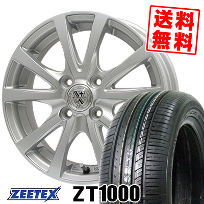165/55R14 72V ZEETEX ジーテックス ZT1000 ZT1000 TRG-SILBAHN TRG シルバーン サマータイヤホイール4本セット