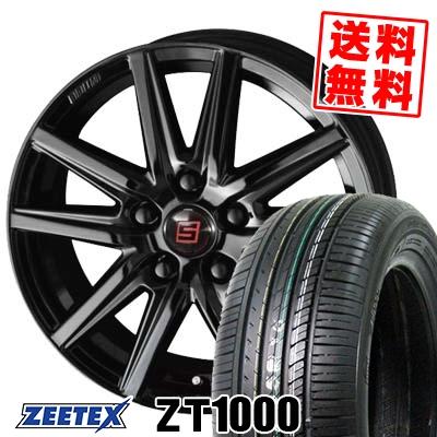 215/65R15 100V XL ZEETEX ジーテックス ZT1000 ZT1000 SEIN SS BLACK EDITION ザイン エスエス ブラックエディション サマータイヤホイール4本セット