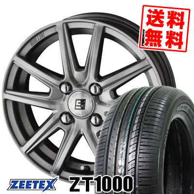 195/55R15 85V ZEETEX ジーテックス ZT1000 ZT1000 SEIN SS ザイン エスエス サマータイヤホイール4本セット