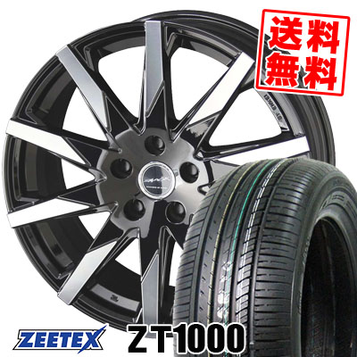 205/65R16 95V ZEETEX ジーテックス ZT1000 ZT1000 SMACK SFIDA スマック スフィーダ サマータイヤホイール4本セット