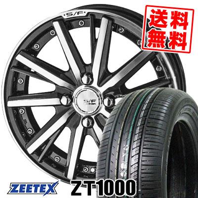 165/50R16 75V ZEETEX ジーテックス ZT1000 ZT1000 STEINER FORCED SERIES SF-V シュタイナー フォースドシリーズ SF-V サマータイヤホイール4本セット