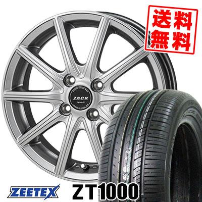 165/55R14 72V ZEETEX ジーテックス ZT1000 ZT1000 ZACK SPORT-01 ザック シュポルト01 サマータイヤホイール4本セット