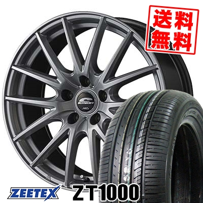 205/65R16 95V ZEETEX ジーテックス ZT1000 ZT1000 SCHNEIDER SQ27 シュナイダー SQ27 サマータイヤホイール4本セット