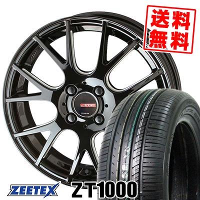 165/55R15 75V ZEETEX ジーテックス ZT1000 ZT1000 CIRCLAR RM-7 サーキュラー RM-7 サマータイヤホイール4本セット