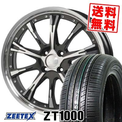 165/55R15 75V ZEETEX ジーテックス ZT1000 ZT1000 Cliff Climb TC-02 クリフクライム TC02 サマータイヤホイール4本セット【取付対象】