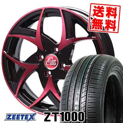165/50R15 73V ZEETEX ジーテックス ZT1000 ZT1000 Cliff Climb TC-05 クリフクライム TC-05 サマータイヤホイール4本セット