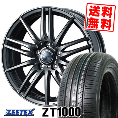 215/65R15 100V XL ZEETEX ジーテックス ZT1000 ZT1000 Zamik Tito ザミック ティート サマータイヤホイール4本セット【取付対象】