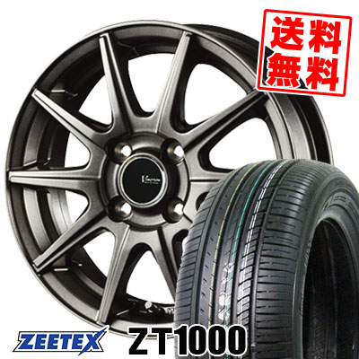 185/70R14 88H ZEETEX ジーテックス ZT1000 ZT1000 V-EMOTION GS10 Vエモーション GS10 サマータイヤホイール4本セット