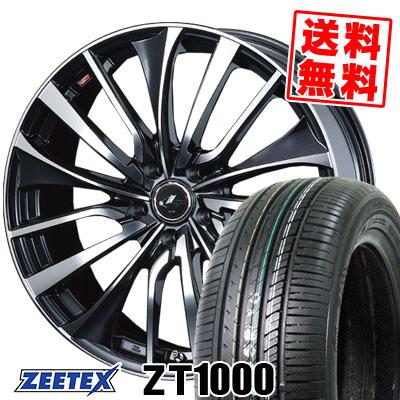 205/65R15 94H ZEETEX ジーテックス ZT1000 ZT1000 weds LEONIS VT ウエッズ レオニス VT サマータイヤホイール4本セット【取付対象】