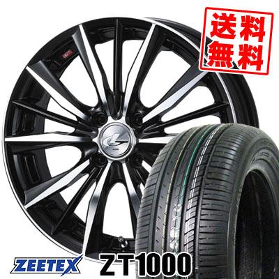 165/50R15 73V ZEETEX ジーテックス ZT1000 ZT1000 weds LEONIS VX ウエッズ レオニス VX サマータイヤホイール4本セット