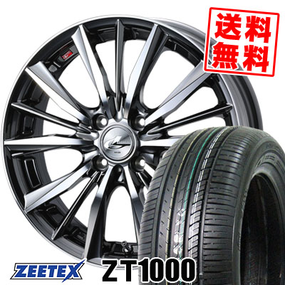 165/50R15 73V ZEETEX ジーテックス ZT1000 ZT1000 weds LEONIS VX ウエッズ レオニス VX サマータイヤホイール4本セット【取付対象】