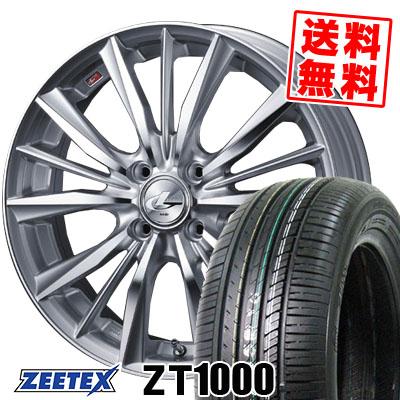165/55R15 75V ZEETEX ジーテックス ZT1000 ZT1000 weds LEONIS VX ウエッズ レオニス VX サマータイヤホイール4本セット