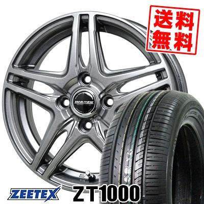 185/55R15 82V ZEETEX ジーテックス ZT1000 ZT1000 WAREN W04 ヴァーレン W04 サマータイヤホイール4本セット