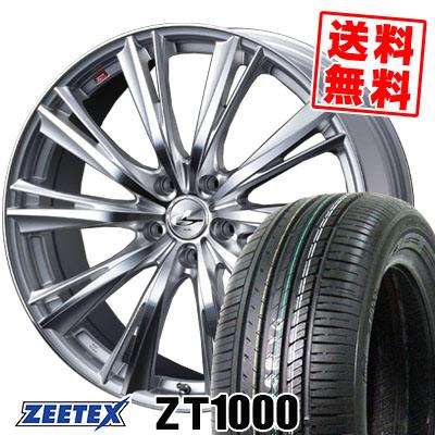 195/65R15 91V ZEETEX ジーテックス ZT1000 ZT1000 weds LEONIS WX ウエッズ レオニス WX サマータイヤホイール4本セット