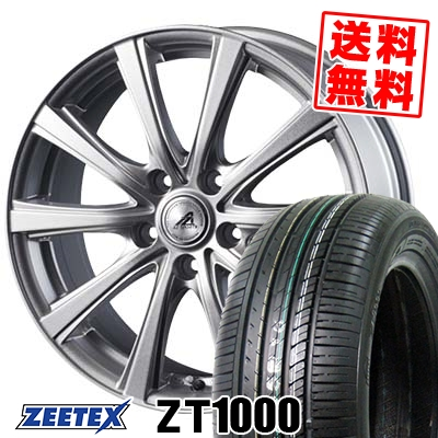 205/65R16 95V ZEETEX ジーテックス ZT1000 ZT1000 AZ sports YL-10 AZスポーツ YL-10 サマータイヤホイール4本セット