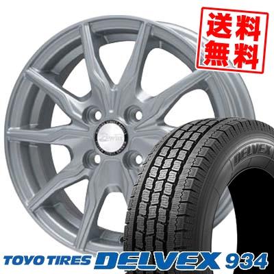 165/80R13 TOYO TIRES トーヨータイヤ DELVEX 934 デルベックス 934 B-WIN KRX B-WIN KRX スタッドレスタイヤホイール4本セット