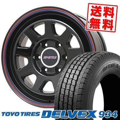 195/80R15 103/101L TOYO TIRES トーヨータイヤ DELVEX 934 デルベックス 934 DT-STYLE DT スタイル スタッドレスタイヤホイール4本セット