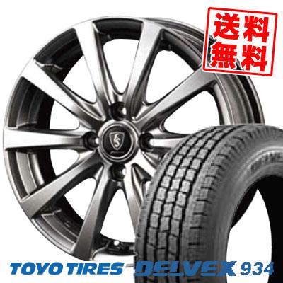 145/80R12 TOYO TIRES トーヨータイヤ DELVEX 934 デルベックス 934 Euro Speed G10 ユーロスピード G10 スタッドレスタイヤホイール4本セット