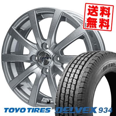 165/80R13 90/88N TOYO TIRES トーヨータイヤ DELVEX 934 デルベックス 934 ZACK JP-110 ザック JP110 スタッドレスタイヤホイール4本セット
