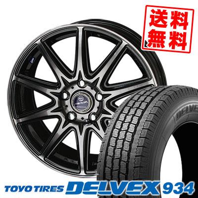 215/70R15 TOYO TIRES トーヨー タイヤ DELVEX 934 デルベックス 934 SMACK LAVINE スマック ラヴィーネ スタッドレスタイヤホイール4本セット