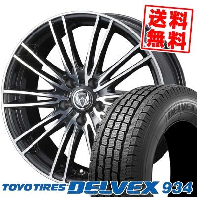 215/70R15 TOYO TIRES トーヨー タイヤ DELVEX 934 デルベックス 934 weds RIZLEY MA ウェッズ ライツレー エムエー スタッドレスタイヤホイール4本セット
