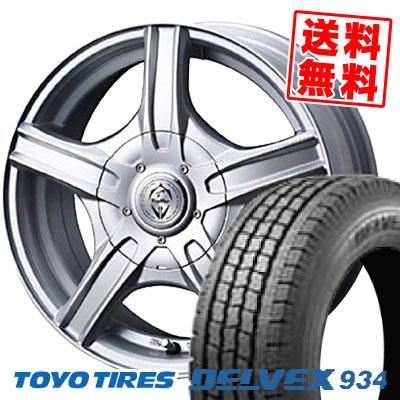 185/80R14 TOYO TIRES トーヨー タイヤ DELVEX 934 デルベックス 934 Treffer MH トレファーMH スタッドレスタイヤホイール4本セット