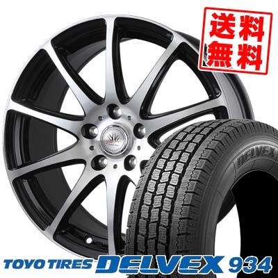 215/70R15 TOYO TIRES トーヨー タイヤ DELVEX 934 デルベックス 934 BADX LOXARNY SPORT RS-10 バドックス ロクサーニ スポーツ RS-10 スタッドレスタイヤホイール4本セット