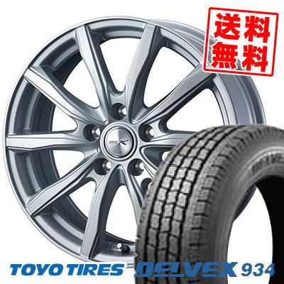 195/70R15 106/104 TOYO TIRES トーヨータイヤ DELVEX 934 デルベックス 934 JOKER SHAKE ジョーカー シェイク スタッドレスタイヤホイール4本セット