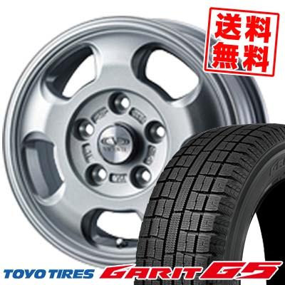 185/65R15 TOYO TIRES トーヨータイヤ GARIT G5 ガリット G5 VICENTE-05 NV ヴィセンテ05 NV スタッドレスタイヤホイール4本セット
