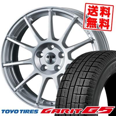 195/65R15 91Q TOYO トーヨー GARIT G5 ガリット G5 TECMAG type211R テクマグ タイプ211R スタッドレスタイヤホイール4本セット