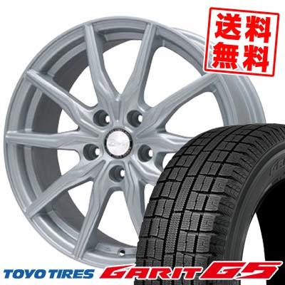 215/60R16 TOYO TIRES トーヨータイヤ GARIT G5 ガリット G5 B-WIN KRX B-WIN KRX スタッドレスタイヤホイール4本セット