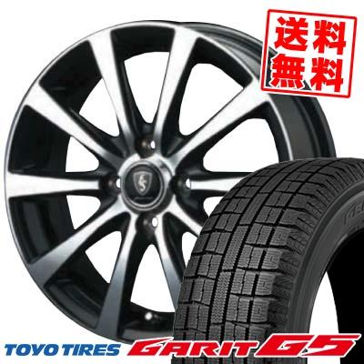 155/65R13 TOYO TIRES トーヨータイヤ GARIT G5 ガリット G5 EuroSpeed BL10 ユーロスピード BL10 スタッドレスタイヤホイール4本セット