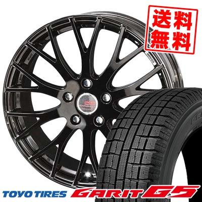 195/65R15 91Q TOYO TIRES トーヨータイヤ GARIT G5 ガリット G5 ENKEI CREATIVE DIRECTION CDM2 エンケイ クリエイティブ ディレクション CD-M2 スタッドレスタイヤホイール4本セット