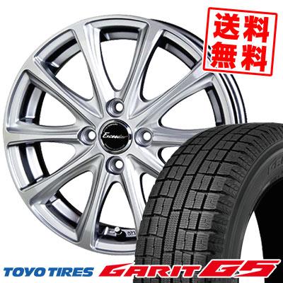175/65R15 84Q TOYO TIRES トーヨータイヤ GARIT G5 ガリット G5 Exceeder E04 エクシーダー E04 スタッドレスタイヤホイール4本セット