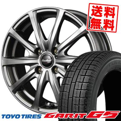 165/70R14 TOYO TIRES トーヨータイヤ GARIT G5 ガリット G5 EuroSpeed V25 ユーロスピード V25 スタッドレスタイヤホイール4本セット