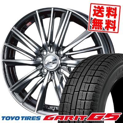 165/65R14 TOYO TIRES トーヨータイヤ GARIT G5 ガリット G5 weds LEONIS FY ウェッズ レオニス FY スタッドレスタイヤホイール4本セット